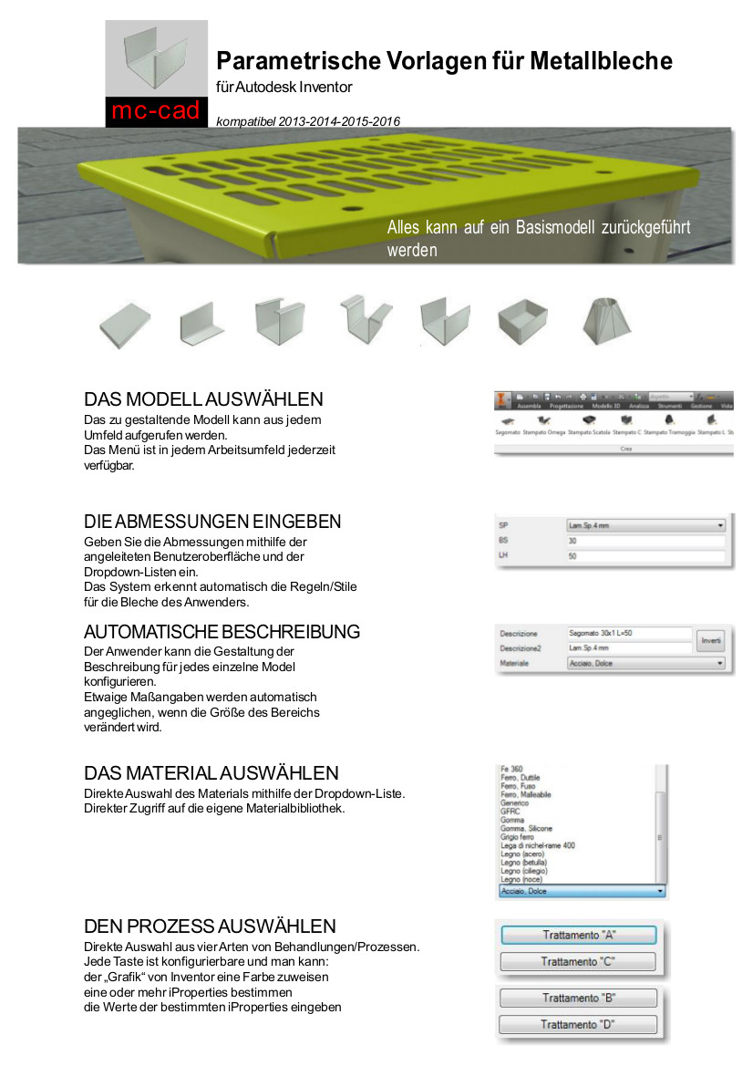 MC CAD SHEET METAL DE 1