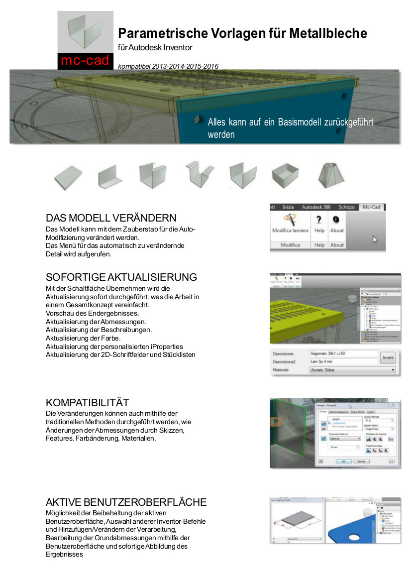 MC CAD SHEET METAL DE 2