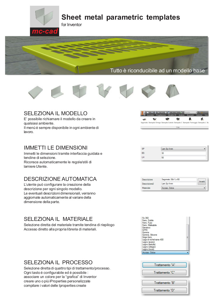 MC CAD SHEET METAL IT 1