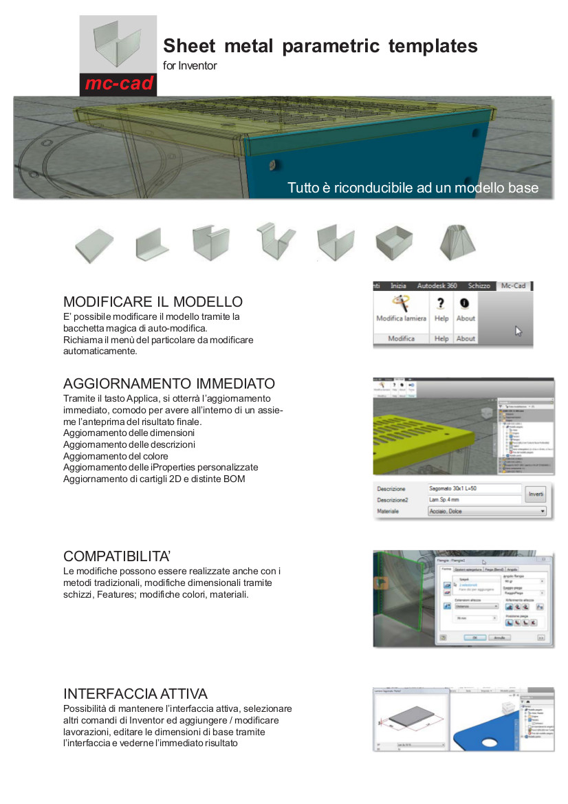 MC CAD SHEET METAL IT 2